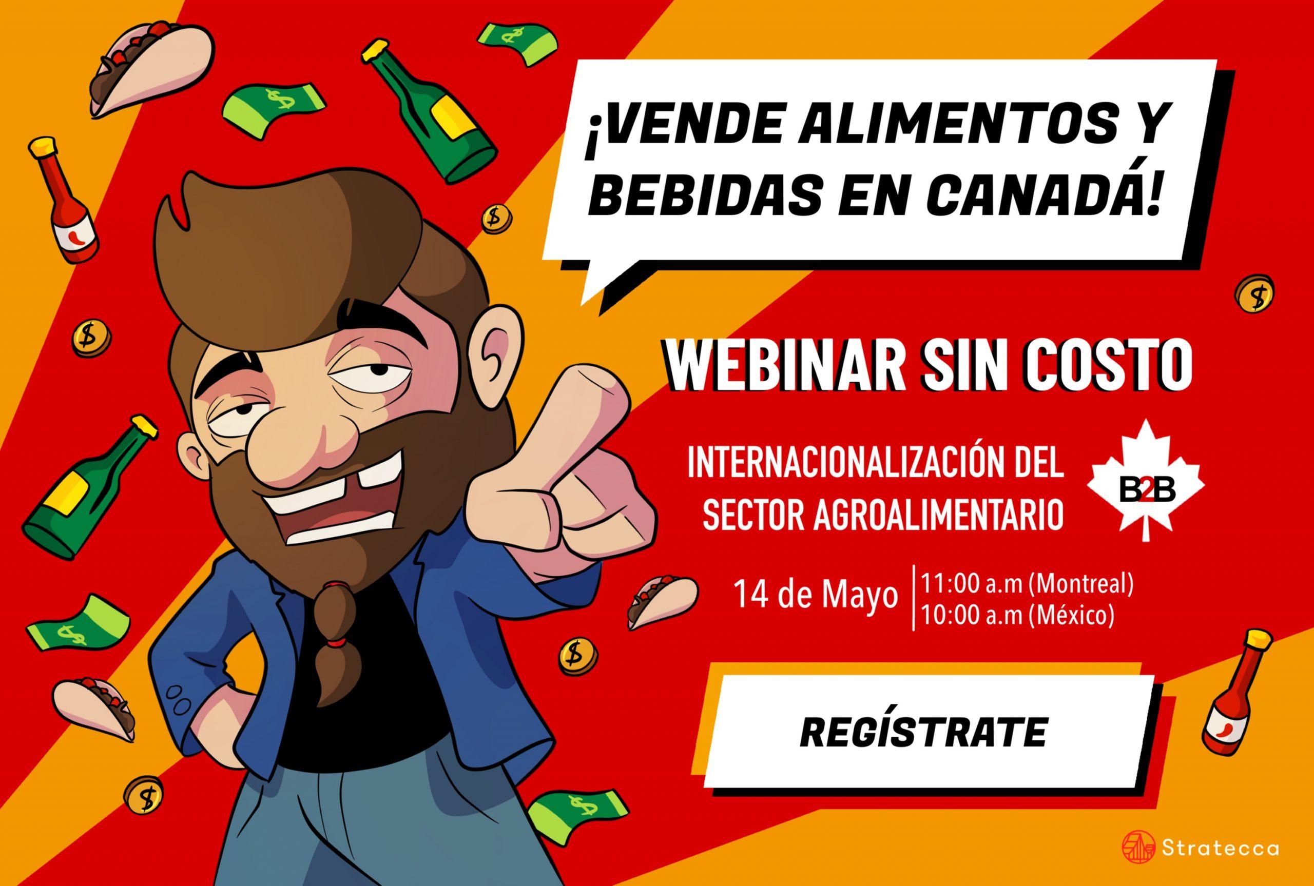 Poster de invitación a Webinar