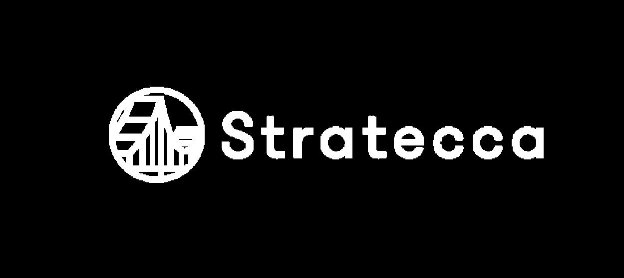 stratecca logo blanco